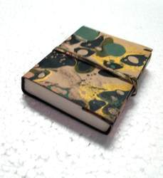 Printed Leather Handmade Journal