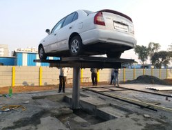 Single Pole Car Washing Lift