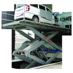 Stainless Steel Future Hydraulic Scissor Car Lift, Maximum Load: 1 to 52 Tons