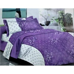 Sig. Town house Violet Double Bed Sheet