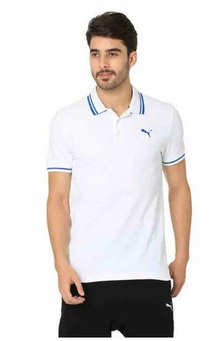 4ac362d1adf Puma White Men One8 - Vk Polo T Shirt, Rs 1499 /piece, Puma India ...