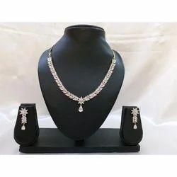 Stylish Silver Jewelry Set