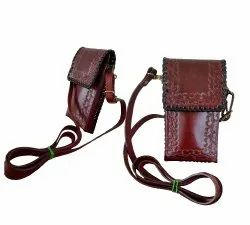 Handmade Leather Smartphone Sling Bag