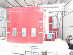 Customized Spray Paint Booth