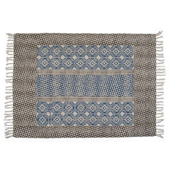 Cotton Printed Living Room Rugs Carpet