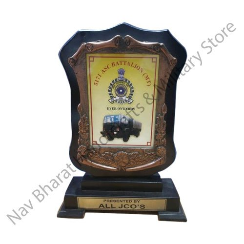Brass And Wooden Momento Army Award Size 12x18 Rs 300 Unit Id 21559007388