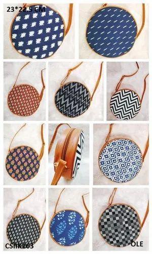 Beautiful & Elegant Ikkat Sling Bags