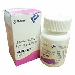 Hepdoze Tenofovir Disoproxil Fumerate Tablets