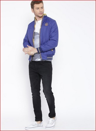 86d42153 Fort Collins Blue Bomber Jacket