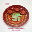Pooja Thali Conework Small