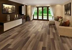 LamiWood Basic Natural Wood Colors Wooden Flooring, Thickness: 8 Mm, Finish Type: Glossy