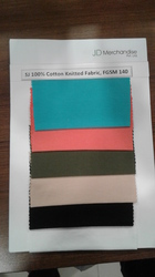 100% Cotton Knitted Single Jersey Dyed Fabric