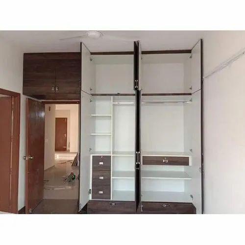 Modern Wooden Almirah At Rs 700 Square Feet Sector 101 Gautam Budh Nagar Id 20681531462