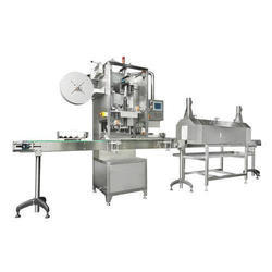 SS Shrink Sleeve Applicator Machine