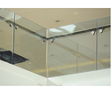 Frameless Glass Railing In Hotel