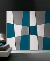 Multicolor Designer Back Painted Glass