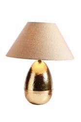 Gold Egg Lamp