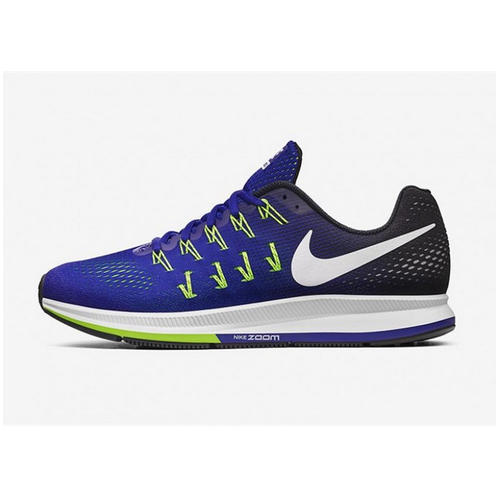 7608307b77db Box Nike Air Zoom Pegasus 33 Royal Blue Running Sport Shoes