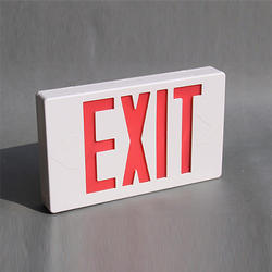 Fire Exit Illuminated Sign