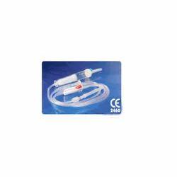 Transparent Lamed Vented BT Set, For Hospital, Packaging Type: Packet