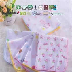 Printed Baby Burp Cloths