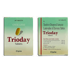 Tenofovir Disoproxil Fumarate Lamivudine And Efavirenz Tablets