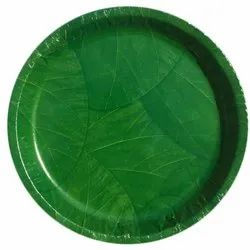 Banana Leaf Paper Plate Raw Material, Packaging Type: Plastic Packet, 80