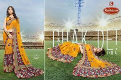 Printed Weightless Saree - Turkey