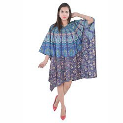 Cotton Nightwear Kaftan