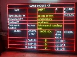 Industrial Production Display Board