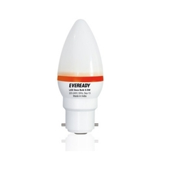Eveready 0.5 W Deco LED Candle Red