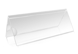 Acrylic Sign Holder Table Cardholder Name Plate