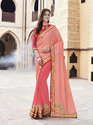 Georgette Simple Pattern Saree