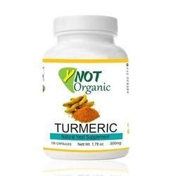 Organic Turmeric Capsules For OEM-500mg