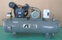 10 HP And 2 HP Anest Iwata Reciprocating Air Compressor
