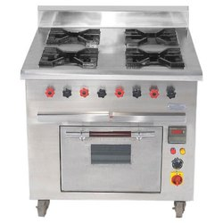 Four Burner Range (Pizza Oven)