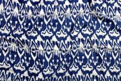 Hand Screen Printed 100% Cotton Fabric Indian Paisley Print Jaipuri Ikat Dress Material
