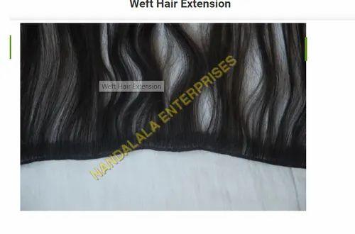 Nandalala Enterprises Female Weft Hair Extension