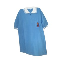 Cotton Blue School Uniform T-Shirt