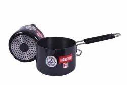 Black H-01. Hard Anodize Induction Sauce Pan
