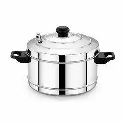 4 Plate Stainless Steel Idli Cooker