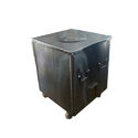 Stainless Steel Tandoor, For Hotel, Shape: Square