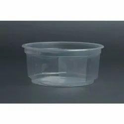 400 Ml Round Plastic Container