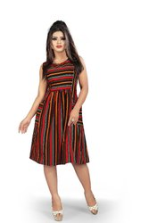 Vertical Striped Dress