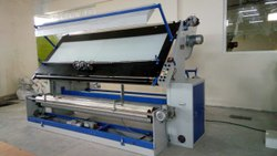Warp Open Knitted Fabric Inspection Rolling Machine