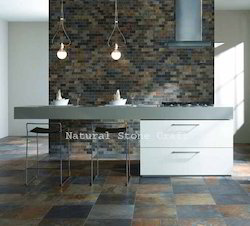 Stone Rustic Slate, Thickness: 10-15 Mm