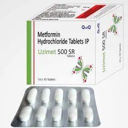 盐酸二甲双胍片IP,处方,治疗:高血糖