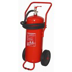 Aluminium A B C Dry Powder Type Wheel Fire Extinguisher, Capacity: 2 Kg, Certification: ISI