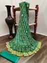 Fancy Indian Wear Bandhej Saree