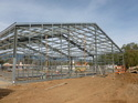 Steel Cold Rolled Pre Engineered Building Structure